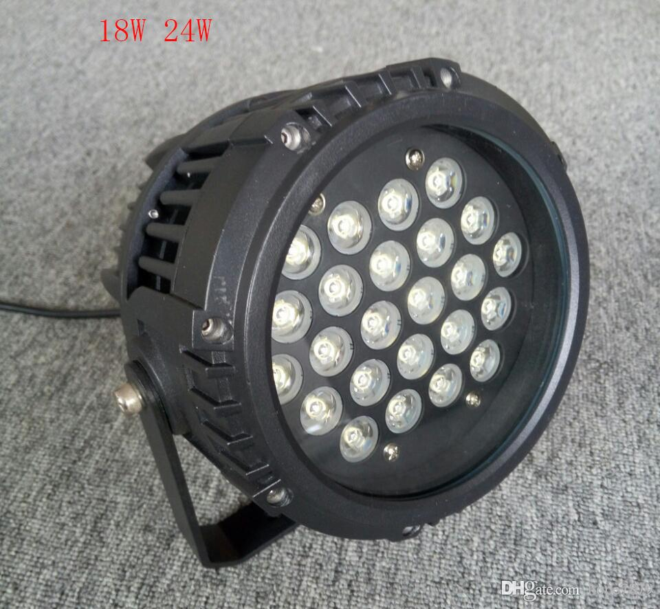 18W 24W hot sale led floodlights outdoor/ rockery lighting corridor laboratory lamp spotlight waterproof outdoor led spotlights AC110V~240V