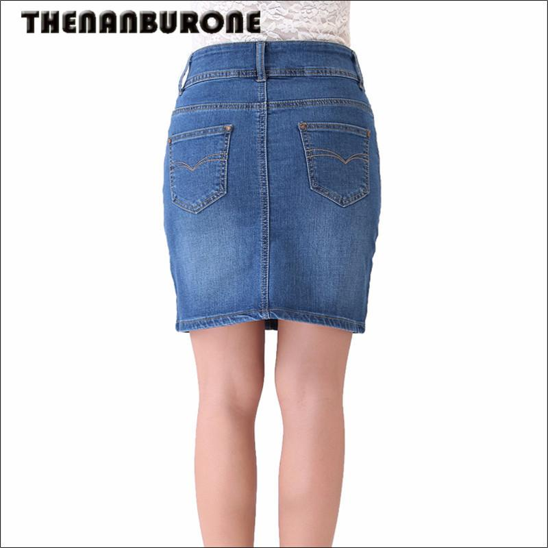 2017 Thenanburone New Casual Long Jean Skirt 2017 Summer Fashion ...