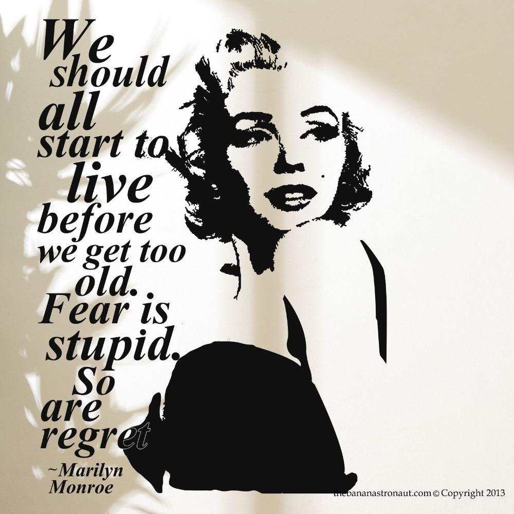 Sexy Marilyn Monroe Wall Decal Stickers Home Decor Easy Removable