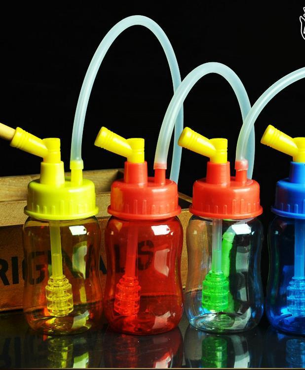 Yeni teslimat hediye akrilik nargile, pot aksesuarları göndermek, cam bongs, cam nargile, sigara, renk modelleri rastgele sevk