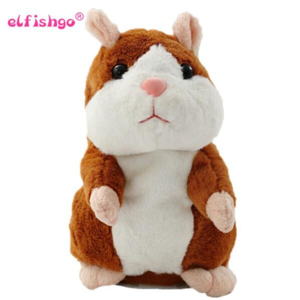 2017 Talking Hamster Mouse Pet peluche Hot Cute Speak Talking Sound Record criceto giocattolo educativo per i bambini regalo
