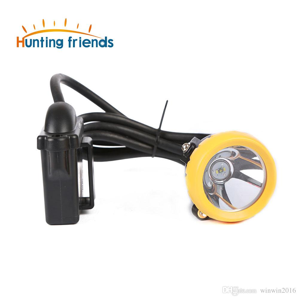 10pcs/lot New Arrival 1+2 LED Safety Miner Lamp KL6M(H) 18650 Battery Headlamp Waterproof Headlight Explosion Proof Cap Lamp