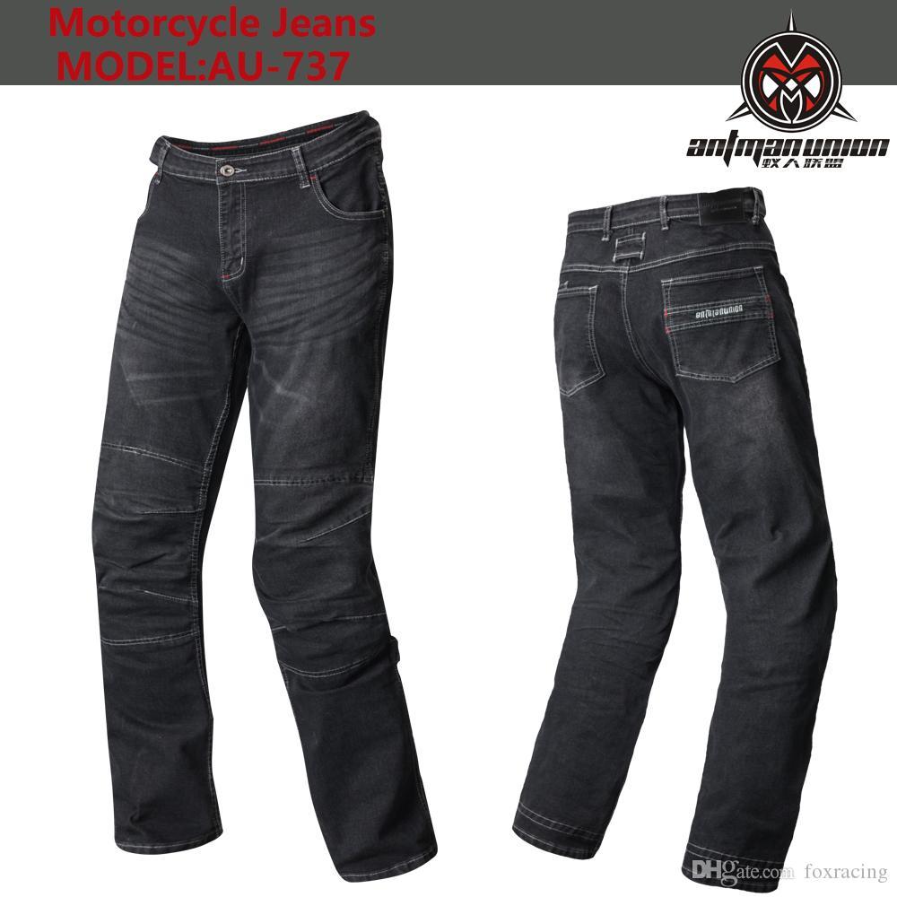 Free shipping motorcycle jeans pants casual jeans mens motorpool jeans casual moto pants with 4 pieces of protetion gears racinKomine AU-737