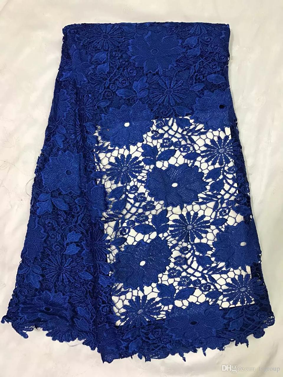 Jksr 4 Wholesale&Retail Embroidery African Guipure Lace Fabric For ...
