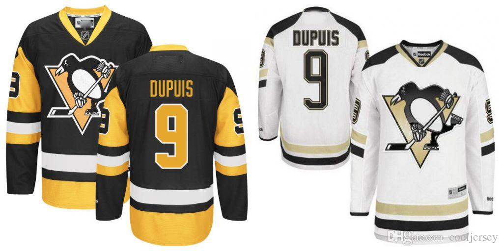 hot sales 92c6c 42741 2017 Stadium Pittsburgh Penguins #9 Pascal Dupuis Jersey Black/Gold White  NHL Stitched Hockey Jerseys Canada 2019 From Cooljersey, CAD $51.04    DHgate ...