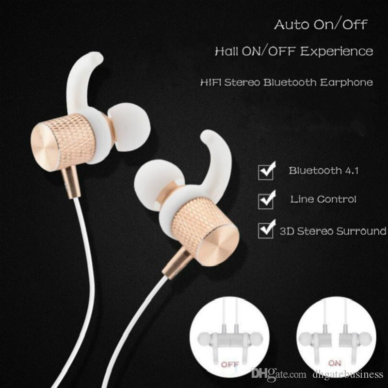 Hot S500 Wireless Bluetooth Earphone Magnetic Headset Stereo Music super bass Outdoor Sport Headphone for phones Earbuds