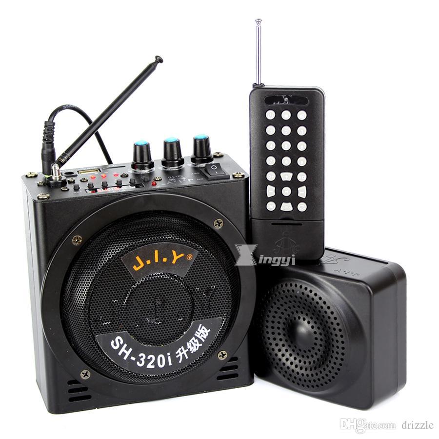 1500 m Kablosuz Uzaktan Kumanda Açık Avcılık Kuş Decoy Arayan MP3 Çalar Çift Mini Hoparlör 888 Adet Tuzak Kuşlar Ses Ekipmanları