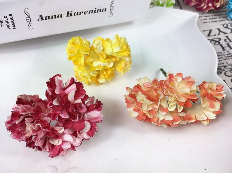 Artificial Paper Bouquet flower for Wedding Decor Candy Box Flowers Accessories for Table Centerpieces 144pcspack (11)