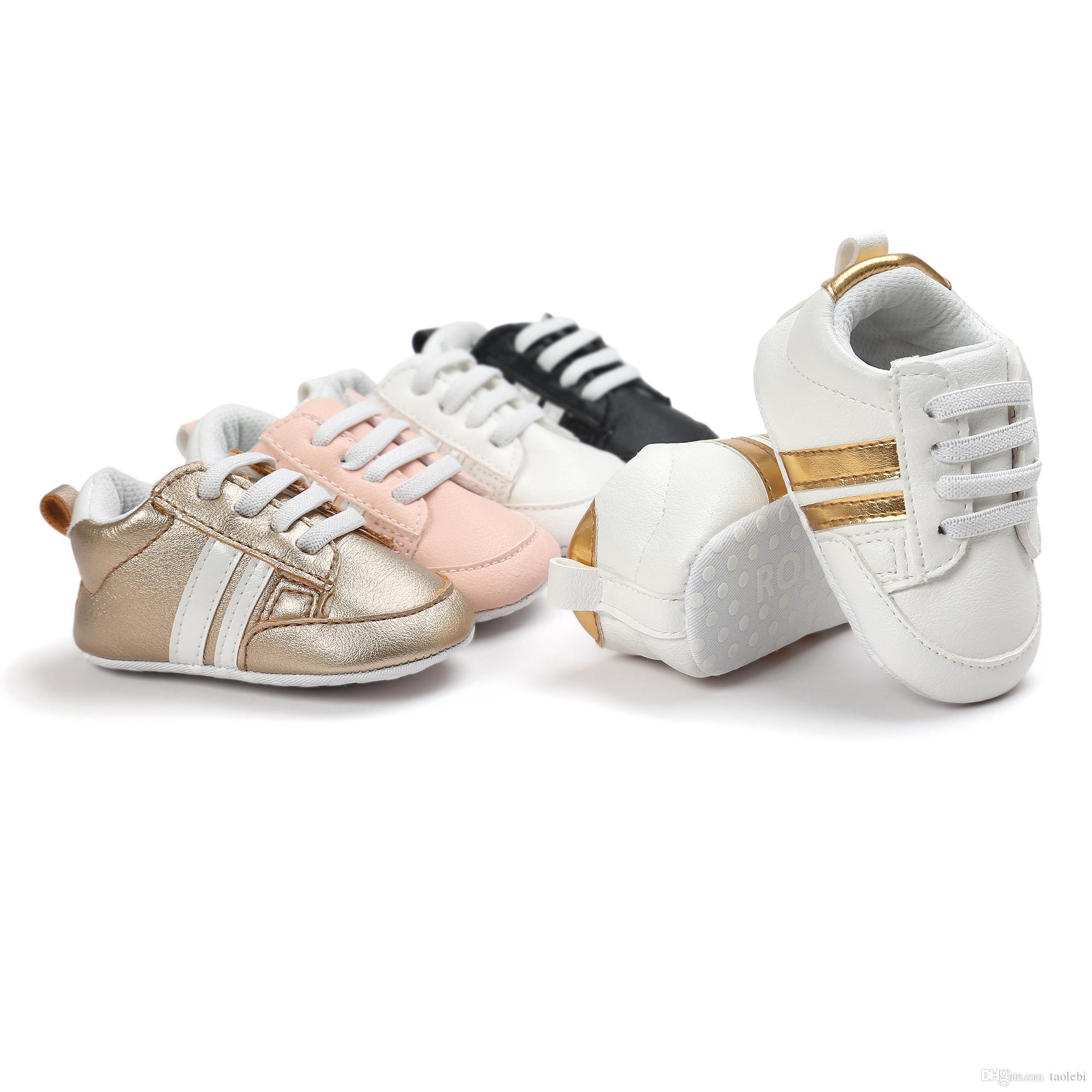 Groothandel baby meisje schoenen, 6 paren / partij, baby eerste walker schoenen, Prewalker schoenen, topkwaliteit merk schoenen, GA407