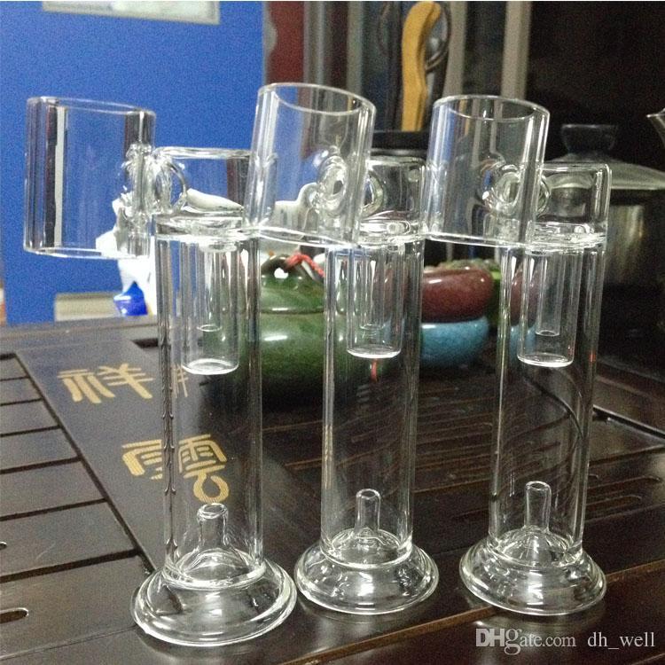 h clavo tubo de vidrio de repuesto vidrio Bong tubo de cera seco hierba vaporizador Dab Nail dispositivo portátil Hnail Dab Pen