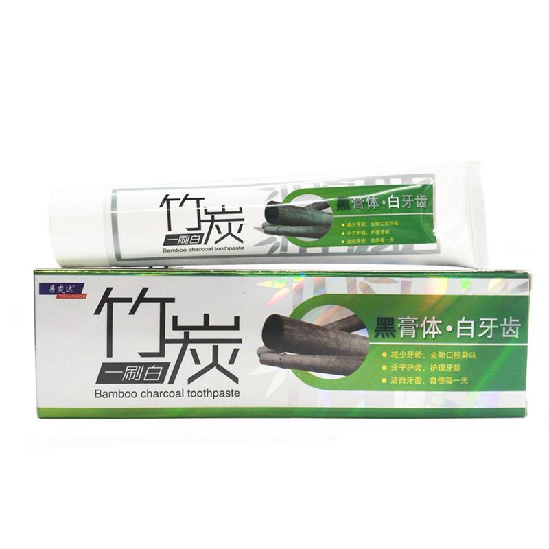 160g Bambou Charcoal Dentifrice Dent Blanchiment Dentifrice Au Fusain Blanc Dent Dentaire Oral Hygiène Dents Produit De Soins