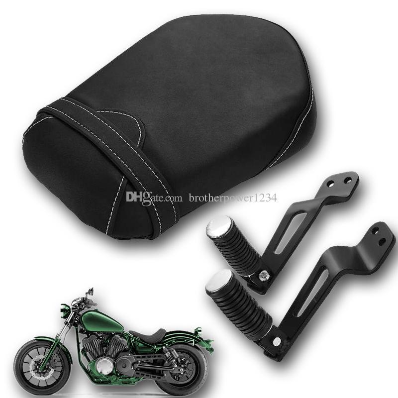 Passenger Pillion Seat W/ Foot Peg Bracket Yamaha Bolt XVS 950 R Spec 2014-2016