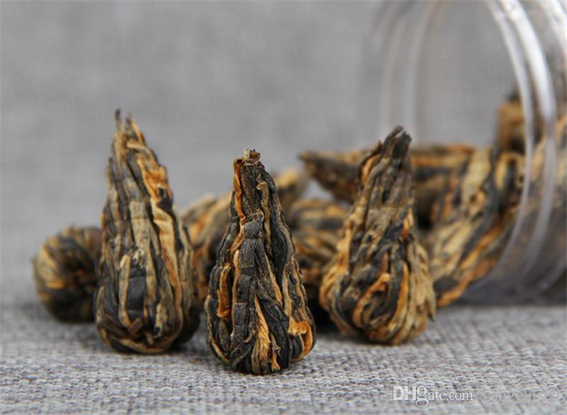 60g Negro chino de té orgánico en lata pequeña pagoda Dianhong té Cuidado de la Salud Nueva cocido té verde saludable Promoción de Alimentos