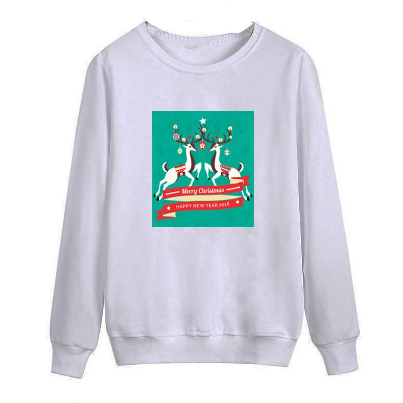 New Christmas Deers 2018 autumn this is me printed Men O Neck T Shirt Casual long Sleeve Slim Fit