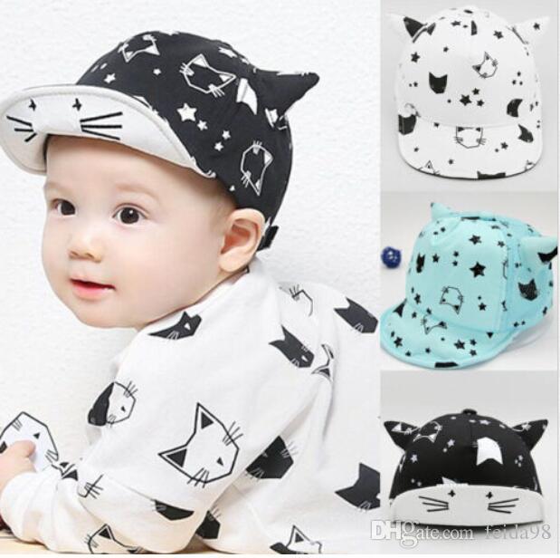 Toddler Kids Infant Sun Cotton Cap Summer Cute Baby Girls Boys Sun Beach Hat G597