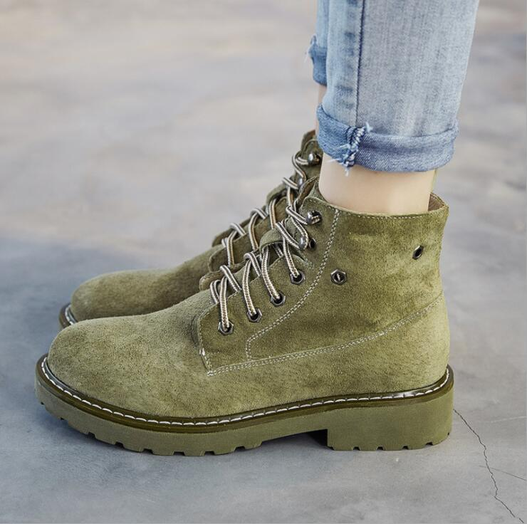 Women Ankle Boots Fashion Outdoor Winte