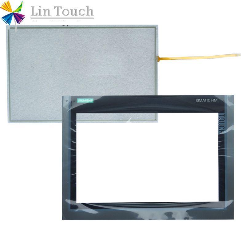 YENI TP1200 Konfor 6AV2 124-0MC01-0AX0 6AV2124-0MC01-0AX0 HMI PLC Dokunmatik Ekran ve Ön etiket Film Dokunmatik ekran VE Frontlabel