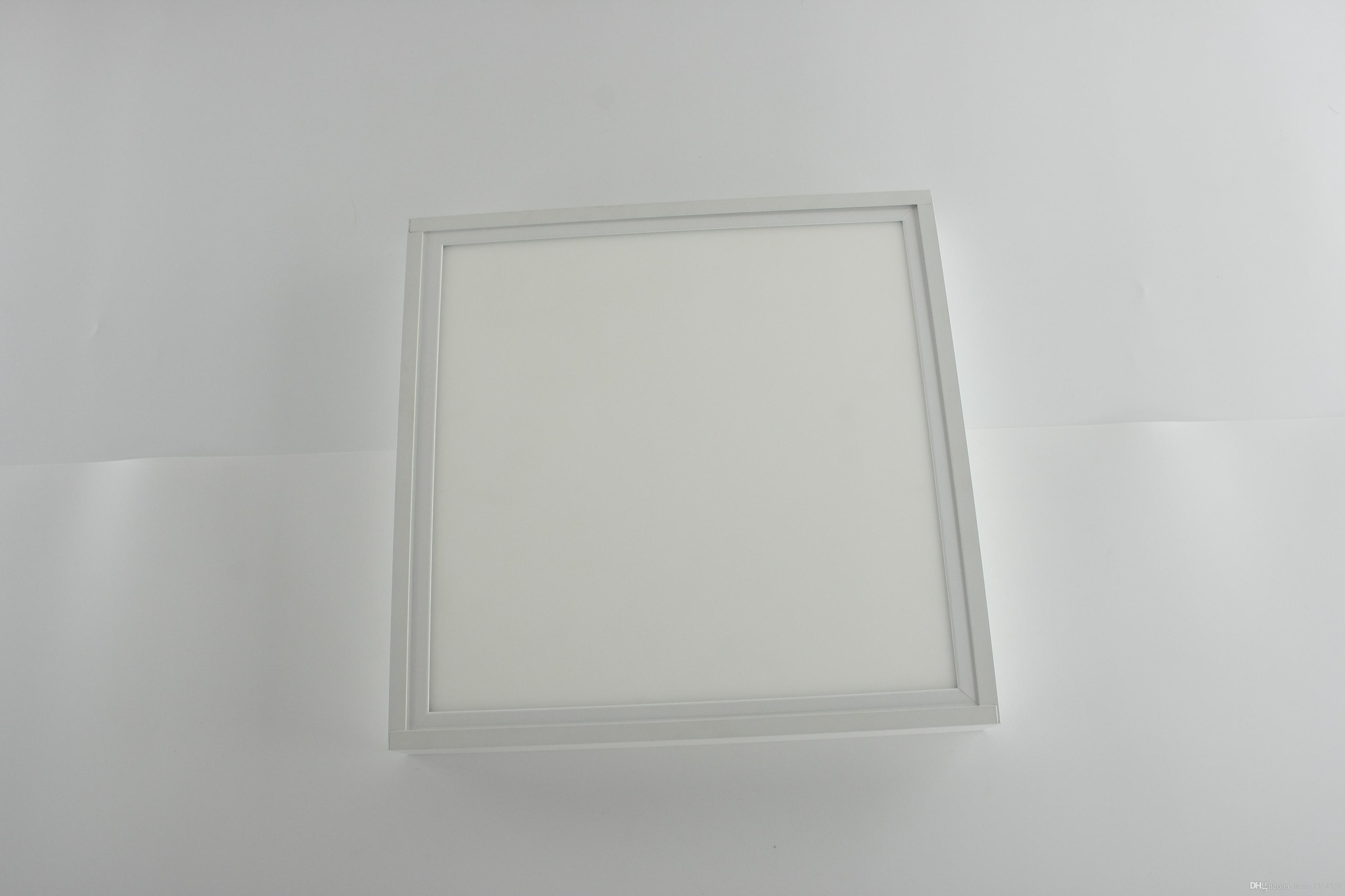 2017 white and silver color avaliable surface mounted led panel