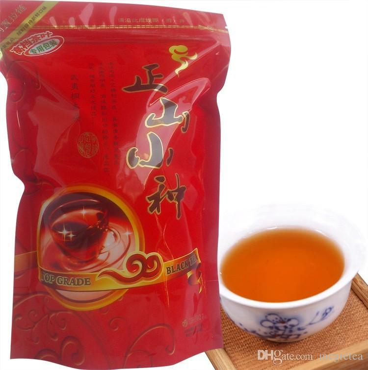 2021 İyi Çay Çin Top Sınıf Lapsang Souchong 200g, Süper Wuyi Organik Siyah Çay ,, + Hediye