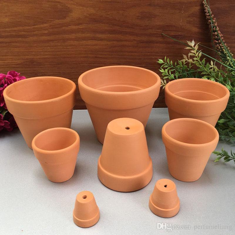 2019 Mini Ceramic Flower Pot D5 5XH5CM Clay Succulent Planters Garden Meat  Plant Antique Vintage Nursery Pots ZA4117 From Perfumeliang, $1 99 |