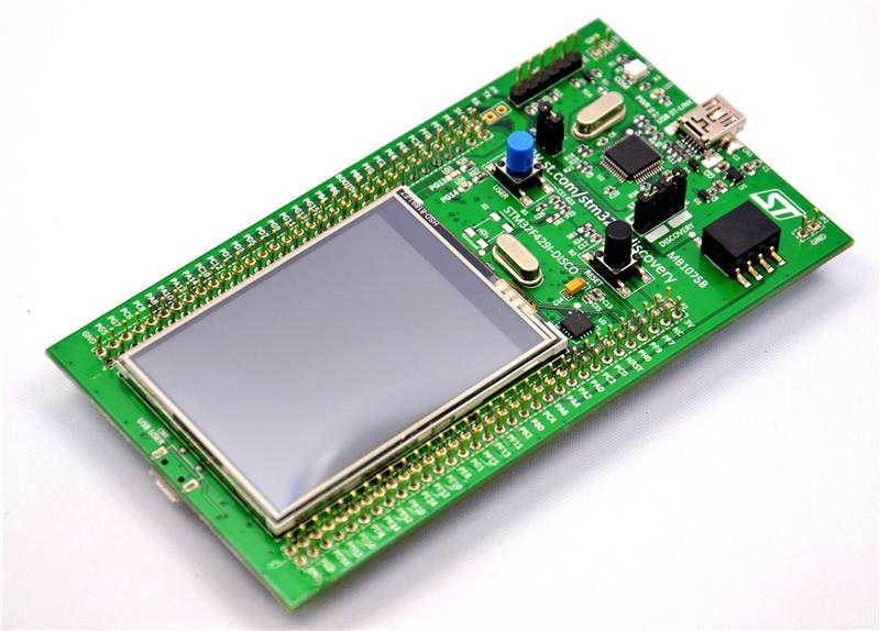 Freeshipping Original STM32F429I-DISCO Embeded ST-LINK/V2 STM32 Touch Screen Evaluation Development Board STM32F4 Discovery Kit STM32F429