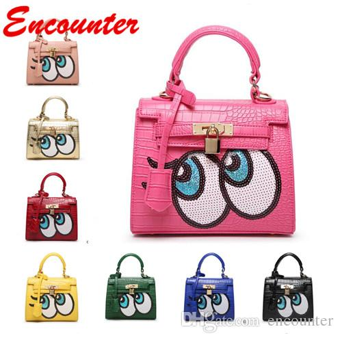 Encounter Hot Unique design Totes for Childrens Baby Girls Small Size Handbags for Shopping Kids brand Mini bags Toddlers lovely purse EN023