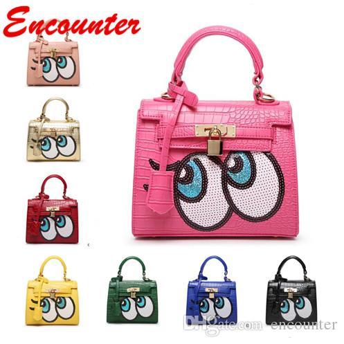 Totes projeto Encontro Hot originais para crianças Bebés Meninas Pequenas Bolsas de tamanho para marca de compras crianças mini sacos Toddlers linda bolsa EN023