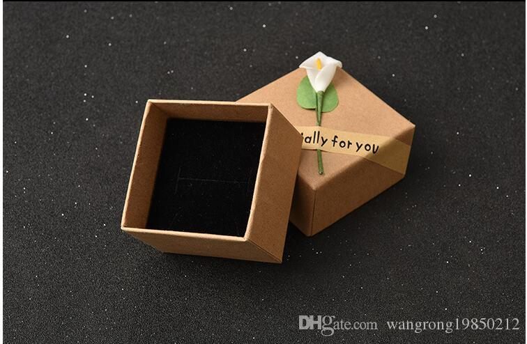 Fashion display packaging gift boxes jewellery box pendant box earrings box brooches corsages packaging