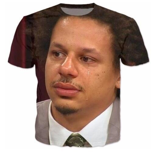 Eric Andre T-Shirt Kadın Erkek Casual Tshirt 3d Harajuku T-Shirt Kıyafetler Tumblr Tee Üstleri Moda Giyim H04