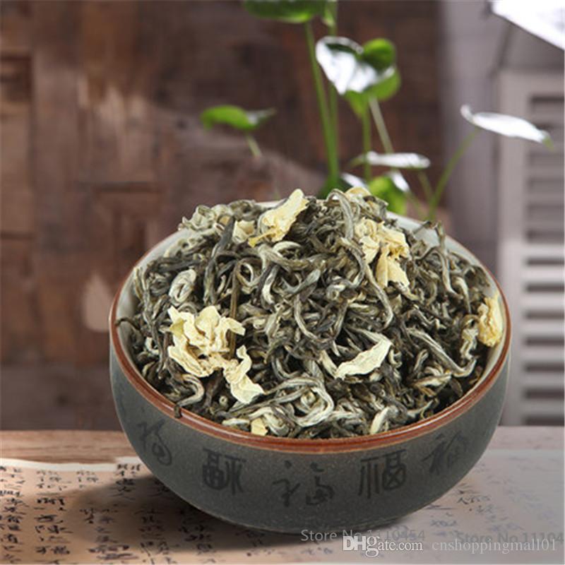 50g organico cinese Inizio di primavera del fiore del gelsomino Tè verde Maofeng aromatico extra Tè Nuovo tè profumato Green Food preferita