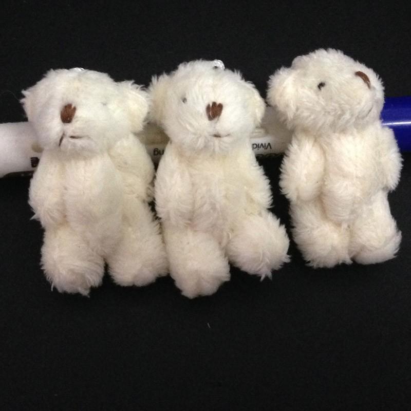 6CM long wool teddy bear 23