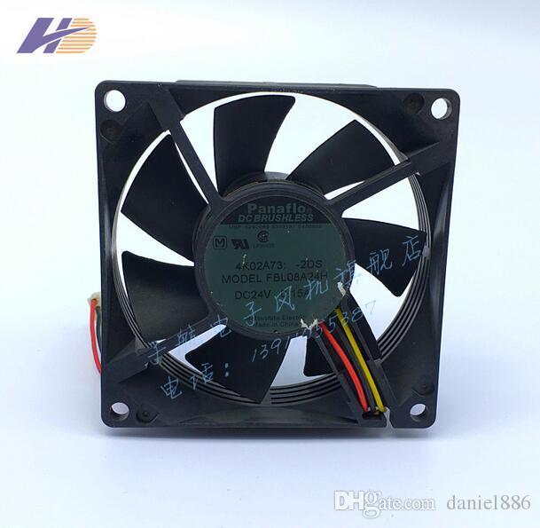 FBL08A24H 8025 24V 80 * 80 * 25MM 0.15A 3 провода вентилятора радиатора