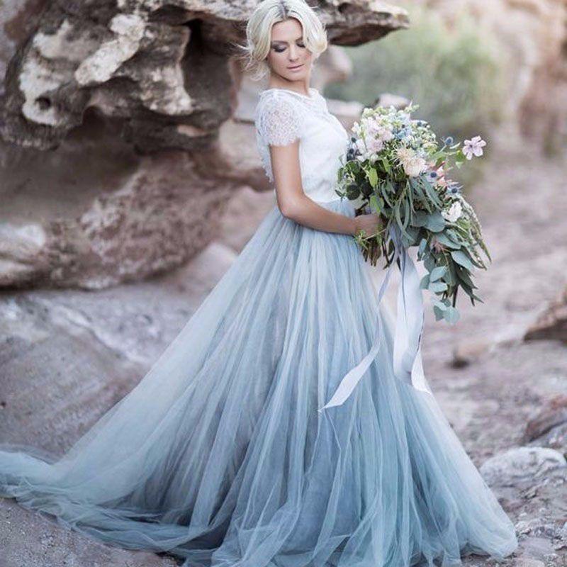 Colorful Vintage Wedding Dresses