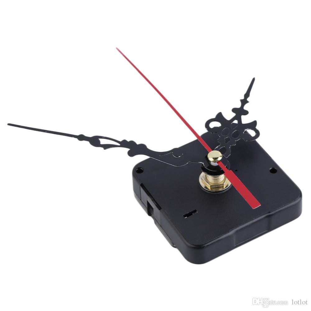 Kit de piezas de la herramienta de reparación del mecanismo de movimiento del mecanismo de movimiento del reloj de cuarzo de las manos silenciadas de cáscara Conjunto de piezas de reloj de bricolaje Accesorios