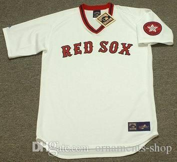 newest collection e5e16 a25a2 boston red sox 8 carl yastrzemski white pullover throwback ...