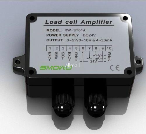 Freeshipping 0-5 V / 10 V 4-20 mA Sensor de Célula de Carga Amplificador Transmissor transdutor medidor de tensão livre
