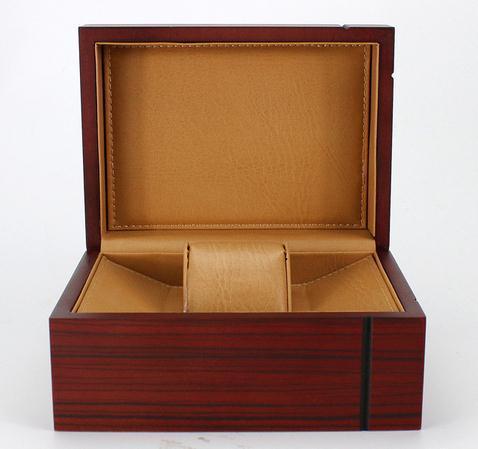 Alta-end caixa de jóias de presente marca relógios caixa de madeira pacote LSL-2138