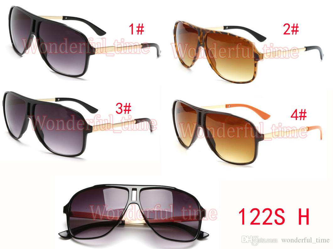 여름 스포츠 신사 안경 패션 선글라스 다크 선글라스 안경 스포츠 야외 큰 프레임 선글라스 4 색 무료 배송