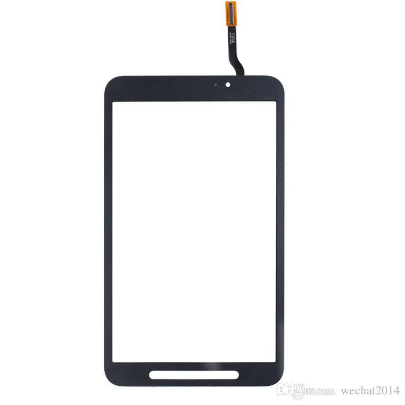 Obiettivo di vetro del convertitore analogico / digitale del touch screen 50PCS con adesivo del nastro per Samsung Tab A 7.0 T285 Tab E Active 8.0 T360 DHL libero