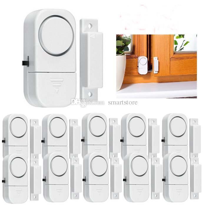 500pcs nuovo rivelatore senza fili del sensore di movimento della porta di casa allarme antifurto di sicurezza della finestra DHL libero FEDEX che spedice 0001