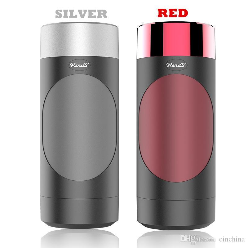 RENDS Interactive Vibrator Male Sucking Masturbator Blowjob Realistic Vagina Clip Vaginal Pocket Pussy Hands Free Sex Machine