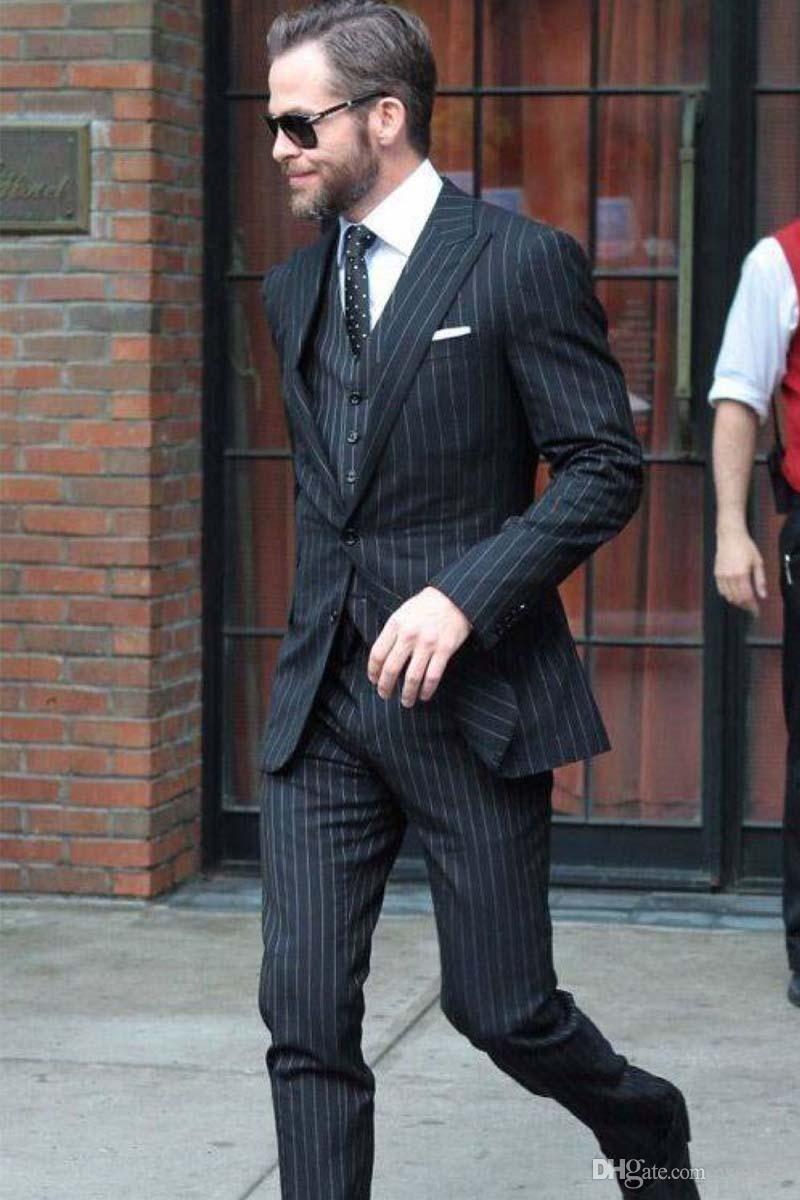Abito Elegante Uomo Completo Pantaloni Giacca Gilet