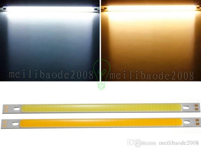 10W 1000LM LED Panel Strip COB Light Bulb Lamp White//Warm White 200X10mm