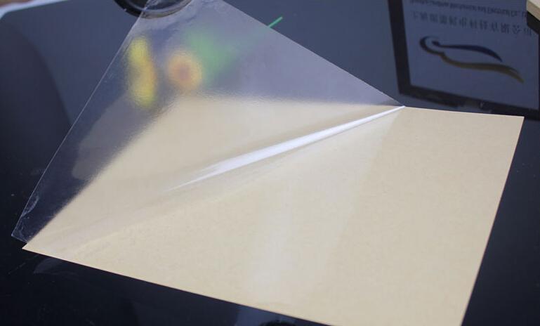 Adesivo autoadesivo in vinile trasparente A4 trasparente all'ingrosso 2016 per stampante laser 21 x 29 cm