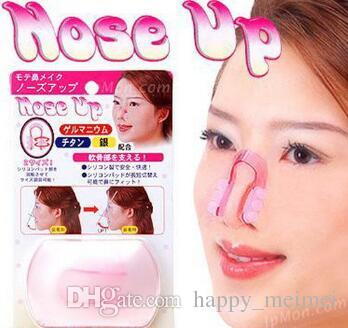 Fashion Silicone Nose Up Shaping Shaper Lifting Bridge Straightening Beauty Nose Clip Face Fitness Facial Clipper corrector Free DHL