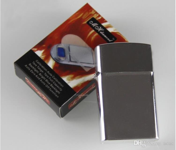 200g X 0.01g 미니 골드와 다이아몬드 규모의 보석 라이터 스타일 디지털 저울 0.01 밸런스 그람 전자 저울