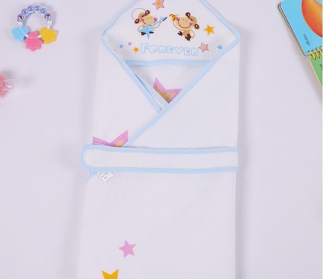 Couvertures bébé langes nouveau-nés épais emmailloter enfants recevant des couvertures de bain enfants couverture literie