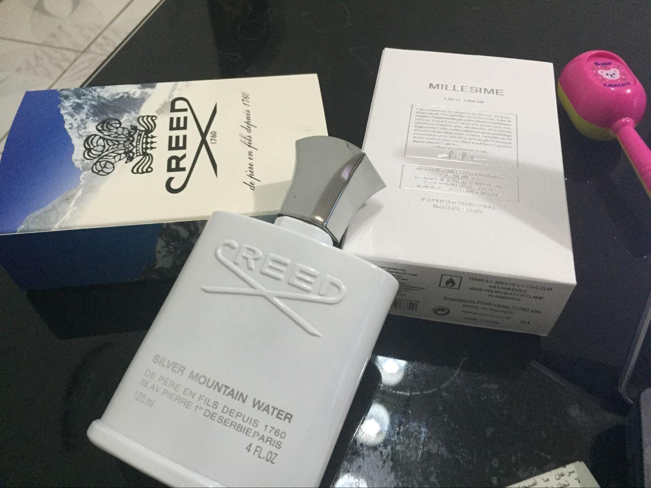 parfum célèbre encens cologne Creed eau de montagne de ruban pour les hommes 120ml de Cologne longtemps durable bonne odeur free shopping