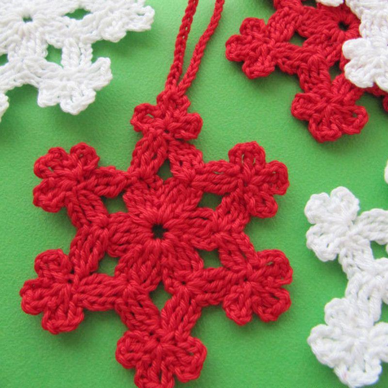 Crochet Christmas Ornaments Patterns.Set Of 12 Christmas Crochet Pattern Crochet Snowflake Pattern Diy Cotton White Christmas Ornaments Lyubava Crochet Christmas Decorations Sale Cheap