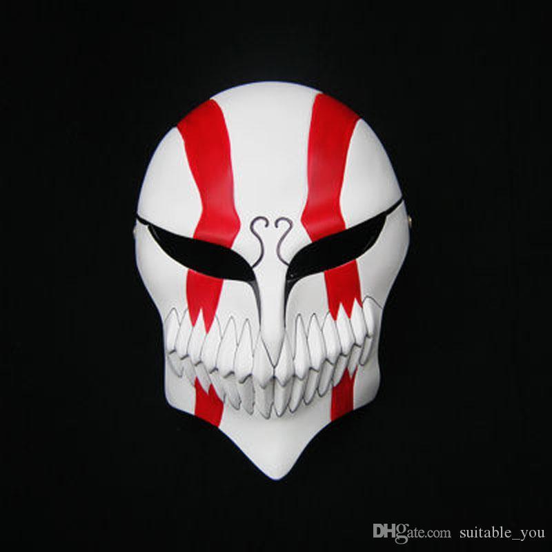 Maschera di Cosplay del partito di BLEACH di facciale di Halloween di Kurosaki Ichigo 1pcs / lot per l'adulto